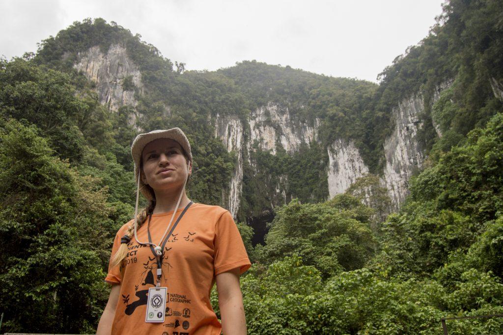 По време на експедиция на о. Борнео